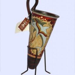 Minoan ceramic rhyton with dolphins 1
