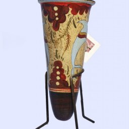 Minoan ceramic rhyton with dolphins 2
