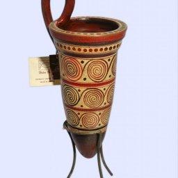Minoan ceramic rhyton with spiral motifs 2