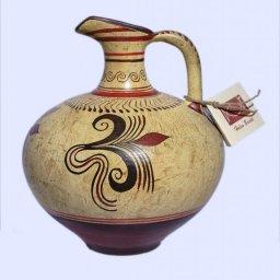 Minoan small jar with vegetal decoration  1
