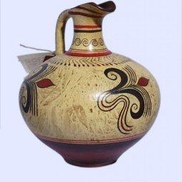 Minoan small jar with vegetal decoration  2