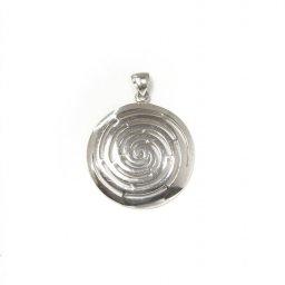Greek spiral pendant the symbol of eternity 1