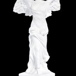 Nike of Samothrace greek alabaster statue 1