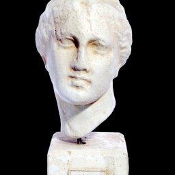 Nike greek plaster bust statue 1