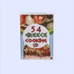 Greek Cuisine Playing Cards 1