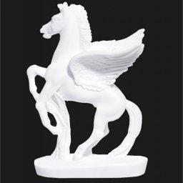 Pegasus greek alabaster bust statue 1