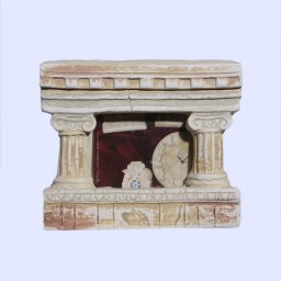 Greek small picture frame with Ionic columns 1