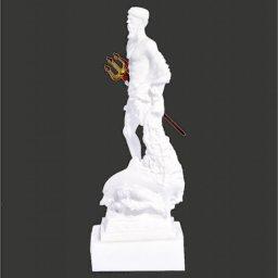 Poseidon greek alabaster statue 2