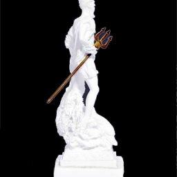 Poseidon greek alabaster statue 4