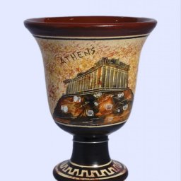 Pythagoras Ceramic Cup with Acropolis 1