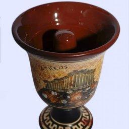 Pythagoras Ceramic Cup with Acropolis 2