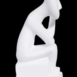 Thinker greek cycladic art statue 2