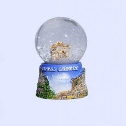 Small Parthenon Snowglobe - Acropolis base 1