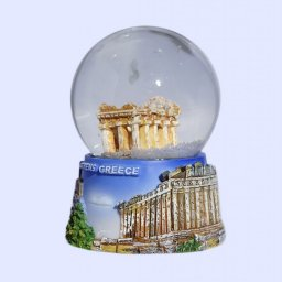 Small Parthenon Snowglobe - Acropolis base 2