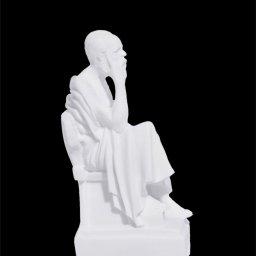Socrates greek alabaster statue 2