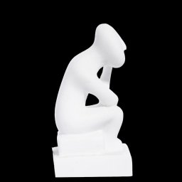 Thinker figurine greek cycladic art statue 2