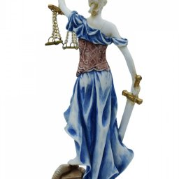Themis, the greek goddess of justice, alabaster statue 3