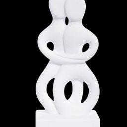 The lovers Figurine small greek cycladic art statue 1