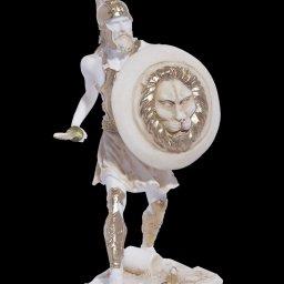 Warrior greek alabaster statue 1