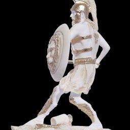 Warrior greek alabaster statue 2