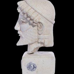 Greek plaster bust statue of Zeus  2