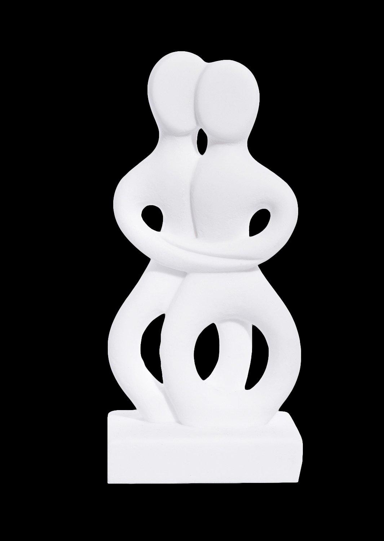The lovers Figurine small greek cycladic art statue